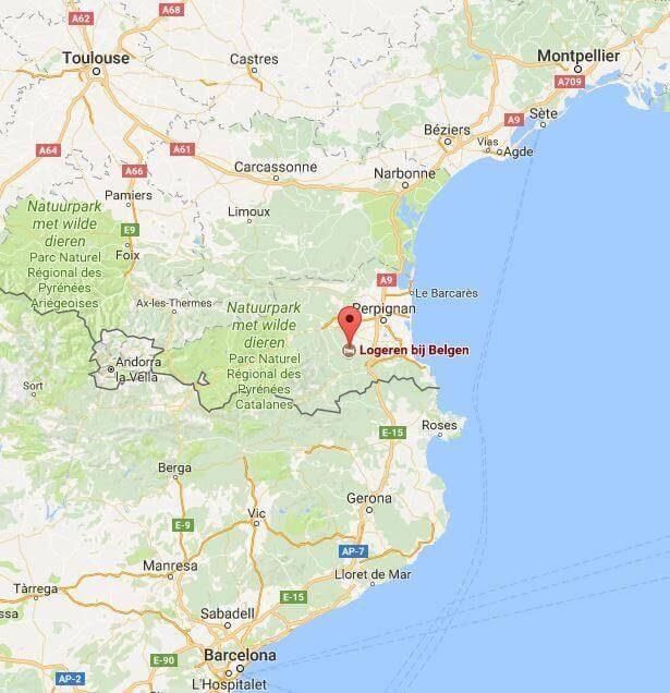Reis-informatie Zuid-Frankrijk vakantie logeren bij belgen in frankrijk